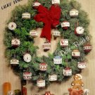 Christmas Country Miniatures Cross Stitch Pamphlet