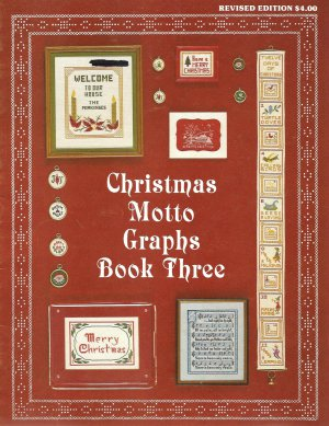 Christmas Motto Graphs Book Three Cross Stitch Pattern