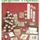 Christmas Poptourri Cross Stitch Pattern