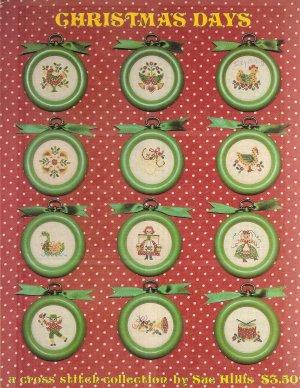 Christmas Days Cross Stitch Pattern