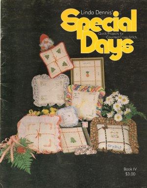 Linda Dennis' Special Days Cross Stitch Pattern