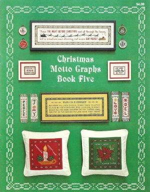 Christmas Motto Graphs Book Five Cross Stitch Pattern