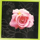 New Pink Rose Greeting Cards or Notecards - 6 Pack