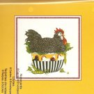New Chicken In Bowl Greeting Cards or Notecards - 8 Pack