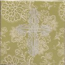 New Green Cross Greeting Cards or Notecards - 6 Pack