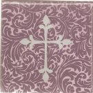New Purple Cross Greeting Cards or Notecards - 6 Pack