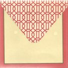 New Chain Link Greeting Cards or Notecards - 6 Pack