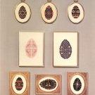 Ukrainian Eggs Cross Stitch Pattern