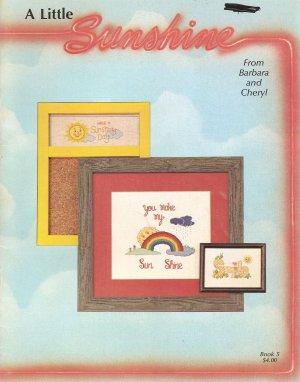 A Little Sunshine Cross Stitch Pattern