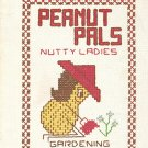 Peanut Pals: Nutty Ladies Cross Stitch Pattern