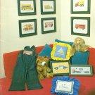 Men & Boy's Toys Cross Stitch Pattern