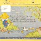 Sarah Kay Cross Stitch Pattern Calendar
