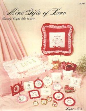 Mini Gifts of Love Cross Stitch Pattern