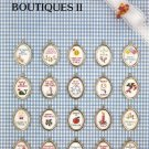 Mini Boutiques II Cross Stitch Pattern
