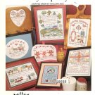 Milk and Honey Land: Country Hospitality II Cross Stitch Pattern