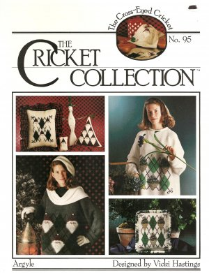 The Cricket Collection: Argyle Cross Stitch Pattern