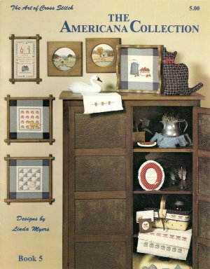 The Americana Collection Cross Stitch Pattern