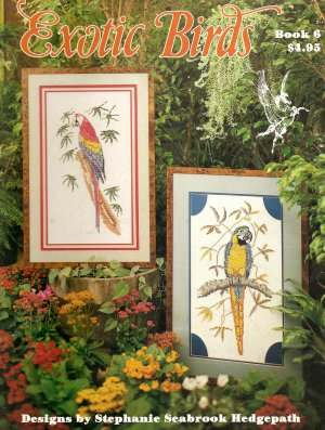 Exotic Birds Cross Stitch Pattern
