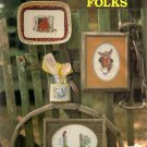 Country Folks Cross Stitch Pattern