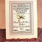 American Goldfinch Sampler Cross Stitch Pattern