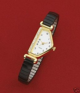 PENTAGON SHAPED LADIES WATCH
