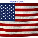 2 1/2' X 4' Ft. Commercial Grade Outdoor U.S. Nylon Flag with Grommets