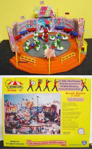 HO Scale Break Dance Carnival Ride Kit #5137