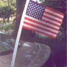 "12"" x 18"" U.S.Poly/Cotton Car Antenna Flag"