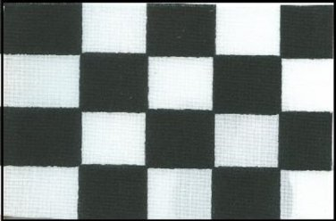 Checkered Polyester Flag 3 X 5