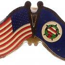 U.S. & STATE FLAG LAPEL PIN- Minnesota