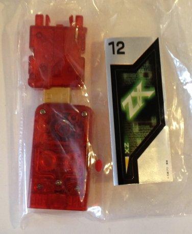 ZX Kamen Masked Rider Gashapon Sound Memory FINAL
