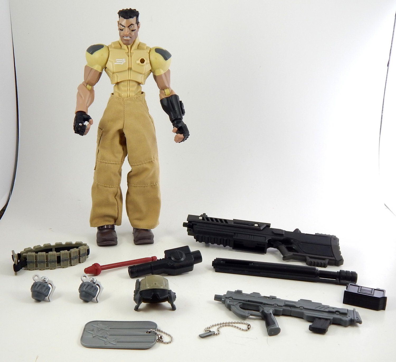 GI Joe Sigma 6 Combat Squad ARMY RANGER DESERT WOLF