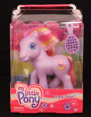 2003 G3-MLP My Little Pony Triple Treat