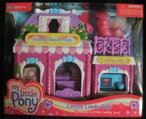 2002- G3 My Little Pony Cotton Candy Cafe