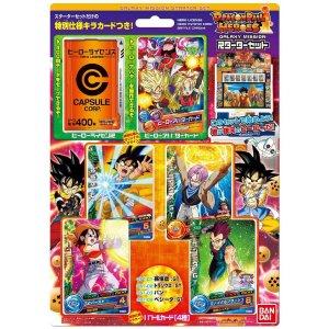 DRAGONBALL HEROES GALAXY MISSION Starter Set Hero Licence & Avatar Card JAPAN