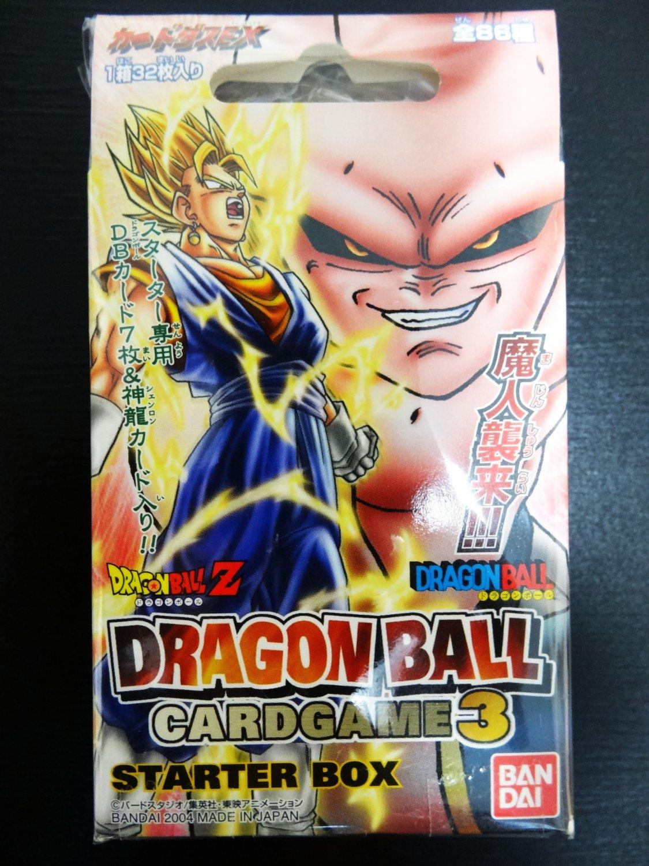 Brand New!! Dragon Ball Z Trading Card Game Part 3 Starter ...