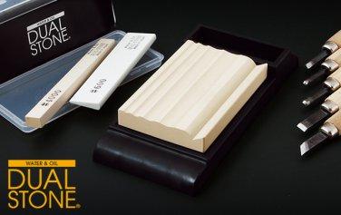 SUEHIRO DUAL STONE Chisel GDS-66W Whetstone #6000 Comb Sharpner grindstone wetstone Japanese knife