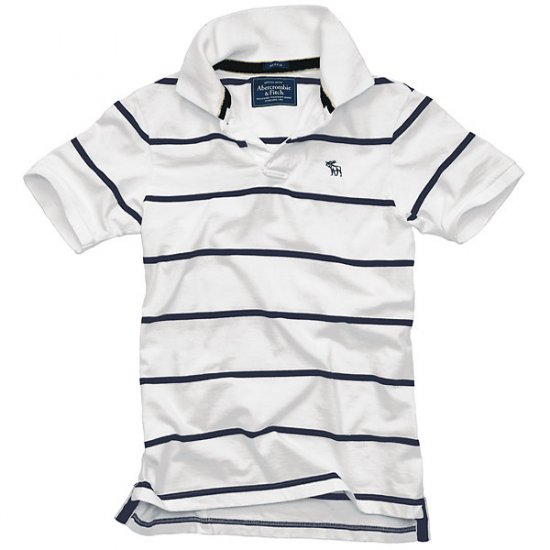 Abercrombie and Fitch Men's Chubb River Sueded Polo S-M-L-XL