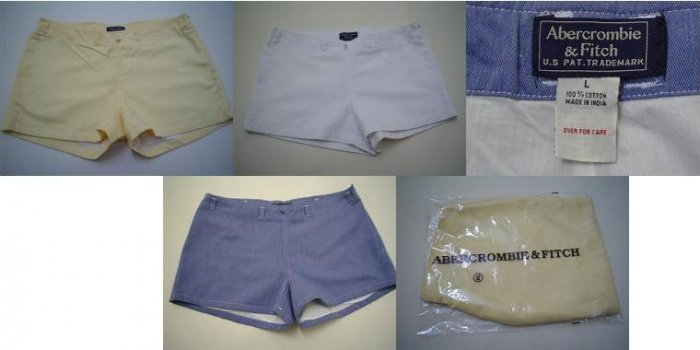 Abercrombie & Fitch Ladies Twill Shorts