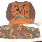 BNWT Scooby Doo Fleecy Pajamas 24 months size