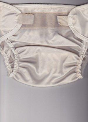 Waterproof Medium Aplix Cloth Diaper Cover - Made in Canada (Bummis?) #1
