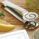 Norpro High Quality Stainless Steel Decorative Tea Bag Squeezer Teabag Tongs.