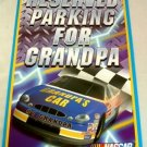 "Sports Fans! NASCAR ""Reserved Parking for Grandpa"" Garage Sign. NEW 16.5""x11"" Grand Pa."