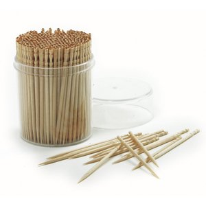 360 Count Ornate Bamboo Fancy Toothpicks, Perfect for Hors d'oeuvres. By Norpro.