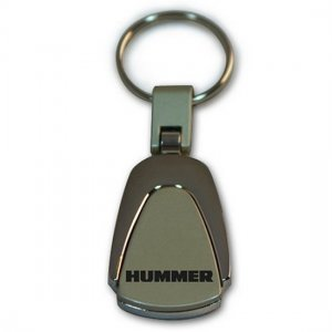 New Hummer Metal Logo Key Chain Ring Fob. Handsome, High Quality Keychain