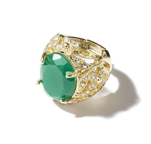 Avon Green Ring