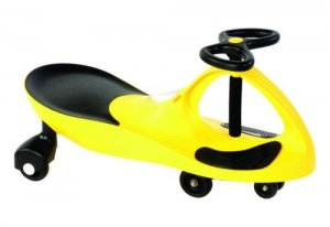 2012 Best Ride-on Toy-----Plasma,Swing,Swivel,WIGGLE SCOOTER Car!(YELLOW COLOR)