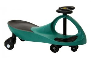 2012 Best Ride-on Toy-----Plasma,Swing,Swivel,WIGGLE SCOOTER Car!(GREEN COLOR)