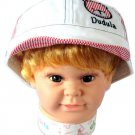 Dudula Bear Captain Baby Cap in WHITE(3 COLORS AVAILABLE!!)-Fits 1 - 2 Years Old