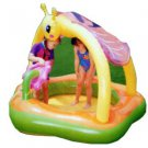 """Little Bee in a Flower"""" Play Pool for 2 Children, with Honeybee Canopy and Flow"""